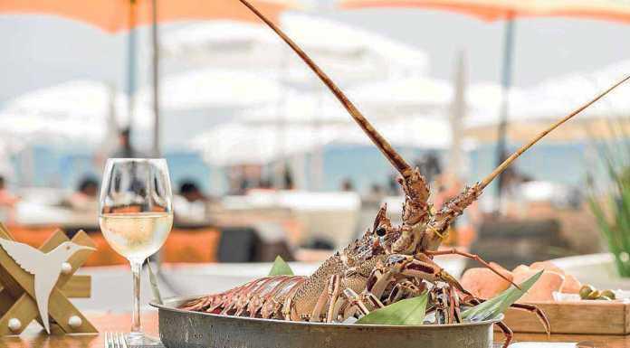 Ushuaïa Ibiza. Manjares del mar directos a la mesa.