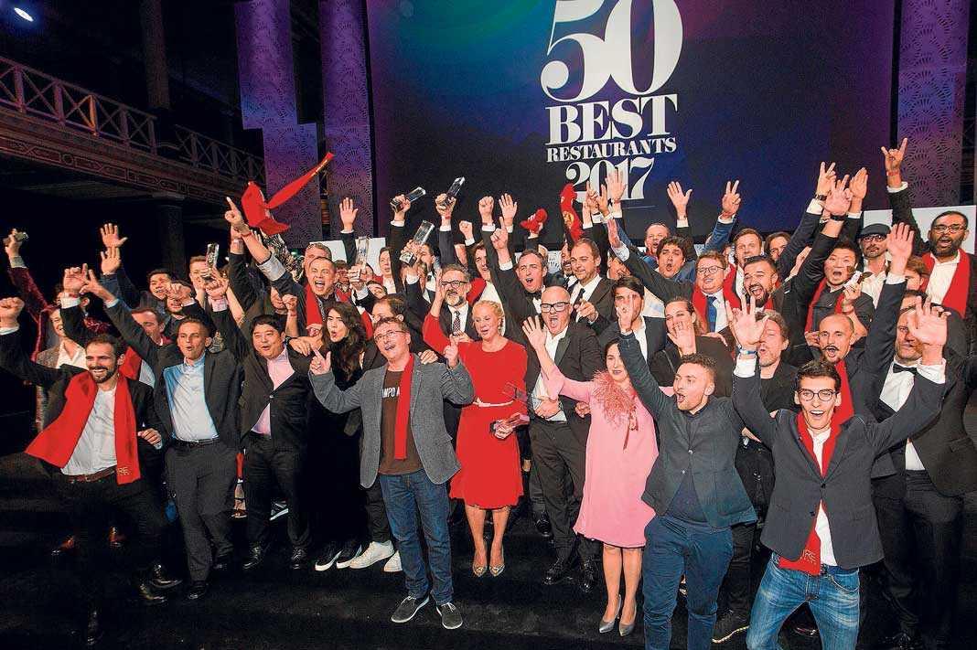 Los mejores 50 restaurantes del mundo