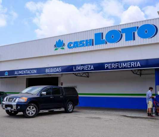 Imagen de la tienda de Cash Loto en Ibiza.