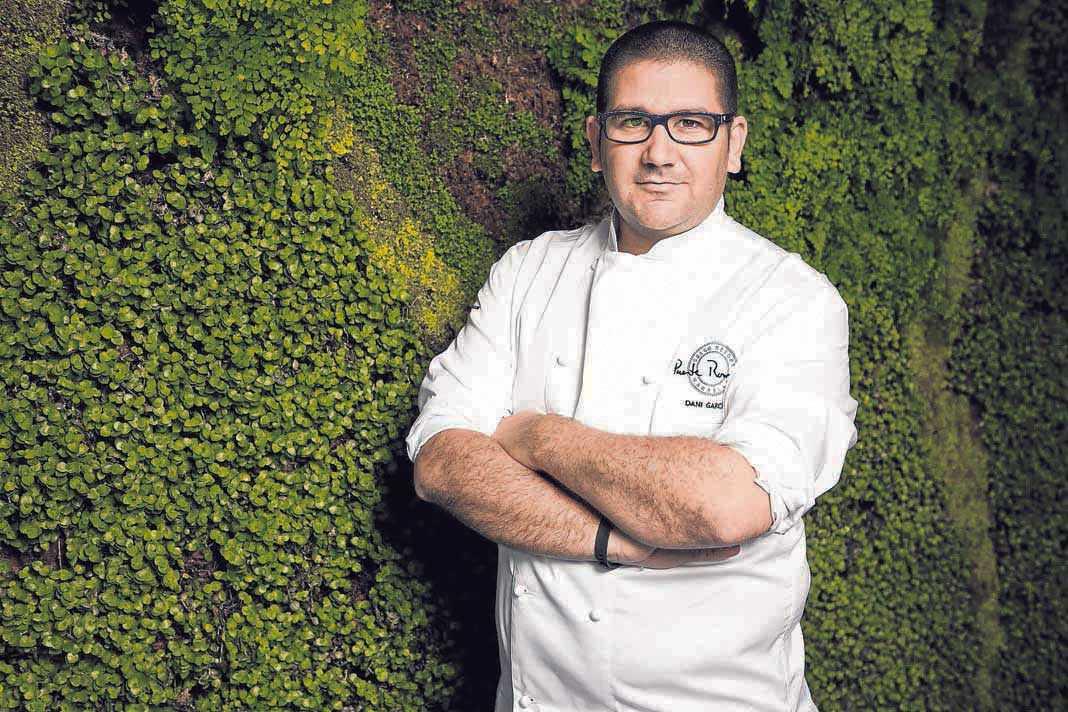 El laureado chef Dani García afincado en Marbella ha creado importantes eventos gastronómicos con los mejores cocineros del momento. D.G.