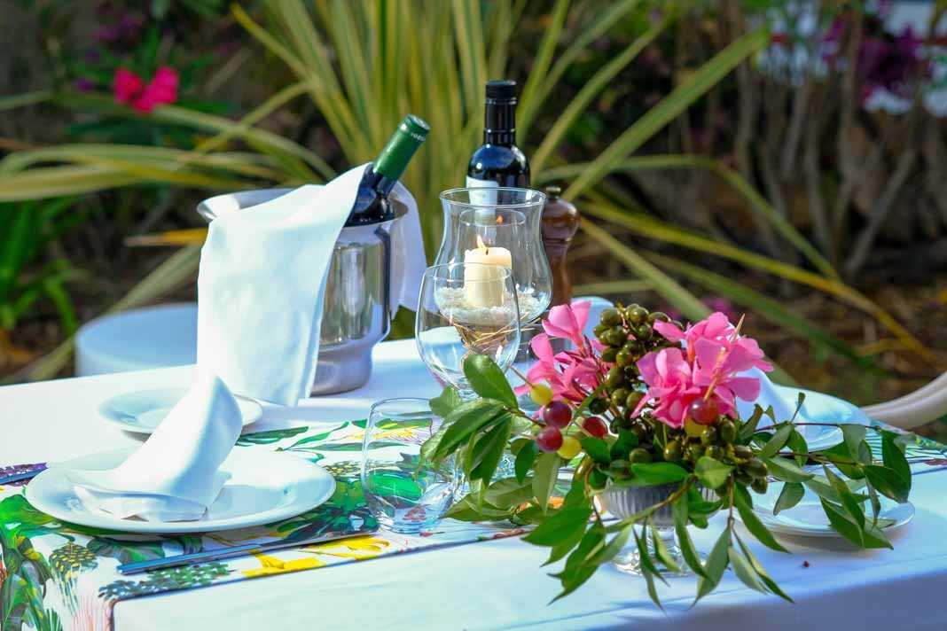Restaurante Olea - Can Lluc. Una esmerada gastronomía en una atmósfera rural.