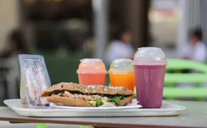 The Green Market Ibiza. comida sana