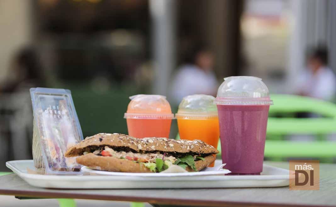 The Green Market Ibiza. Comida sana y rápida, hecha en el momento, para todos los gustos