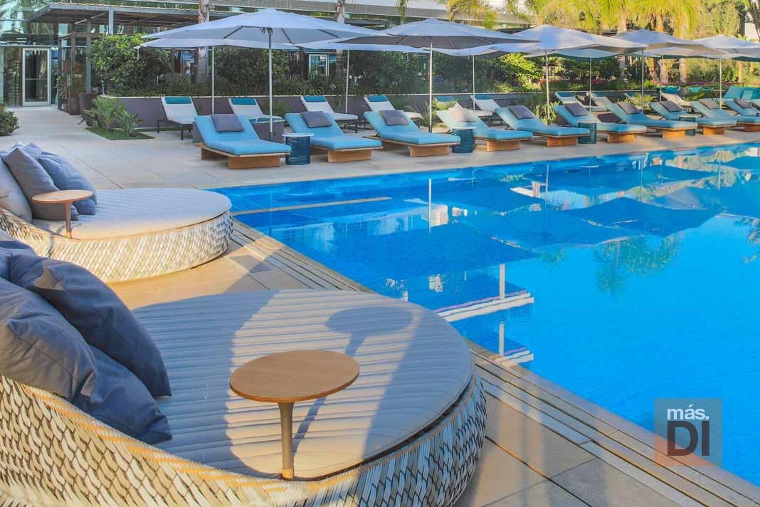 Aguas de Ibiza Lifestyle & Spa estrena una increíble piscina