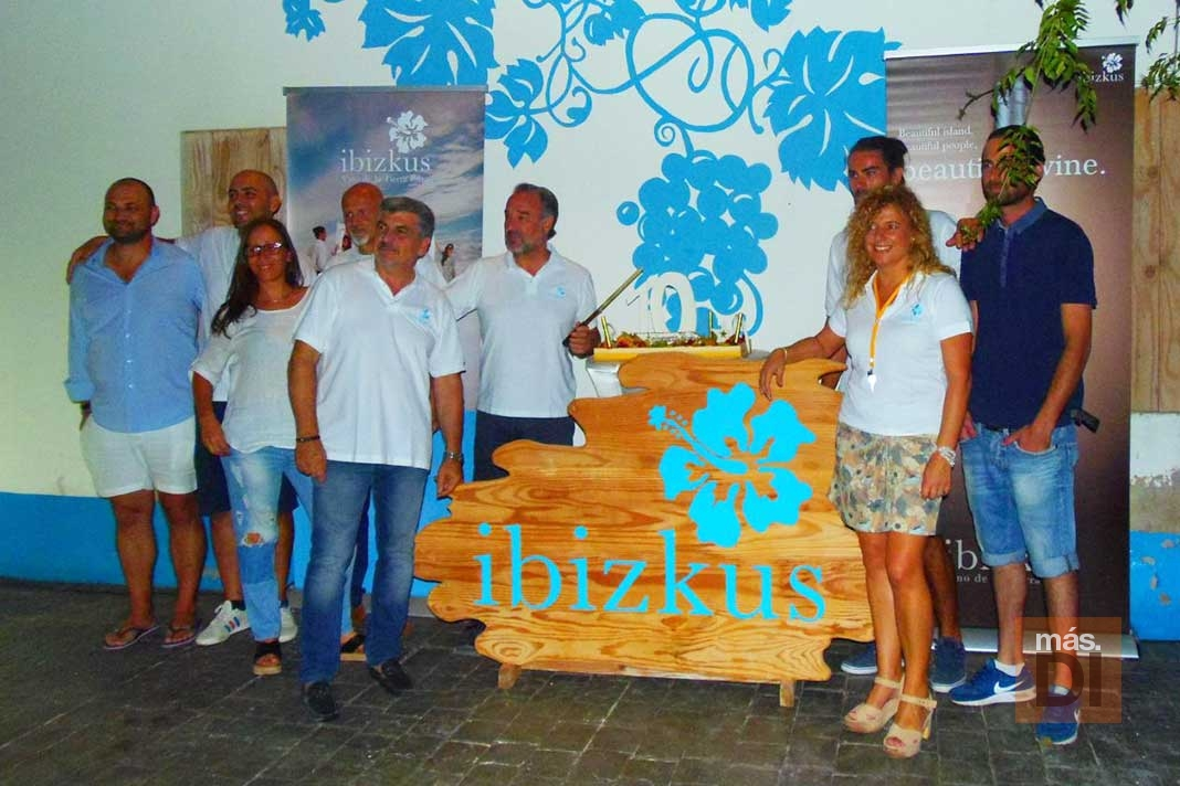 La bodega Ibizkus celebra su décimo aniversario