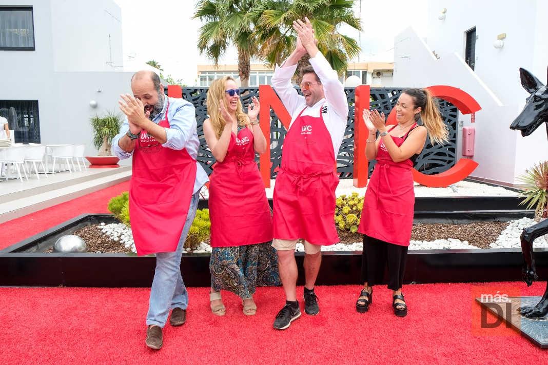 Unic Chef Ibiza. Álex Soto, ganador del certamen gastronómico