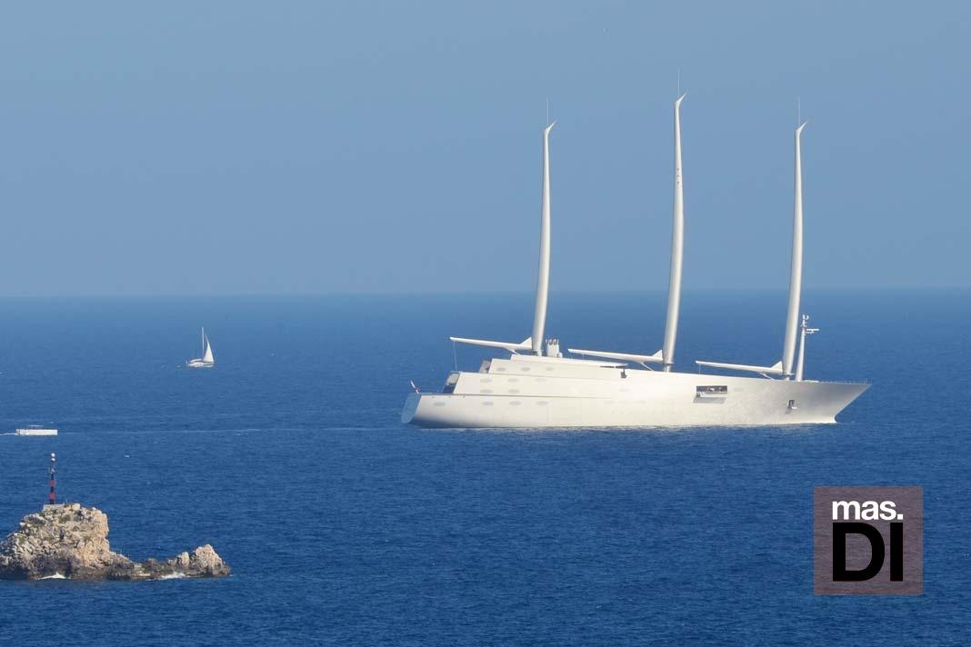 Barcos más espectaculares. El 'A' es, por ahora, uno de desafíos más grandes de la arquitectura naval. Sebastián Candela