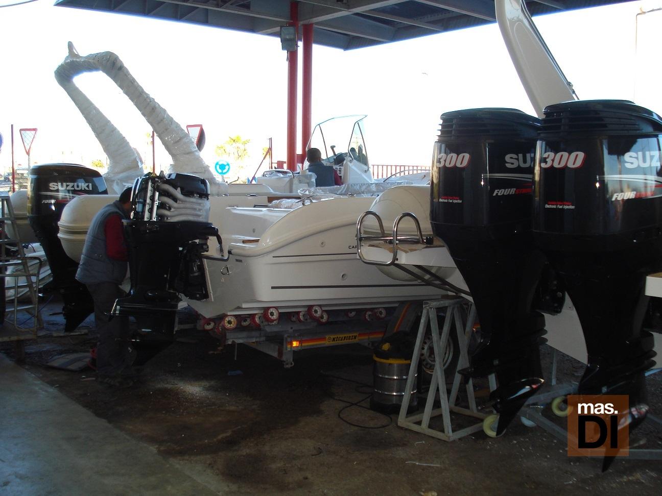 Al finalizar la temporada es necesario revisar, reparar y conservar el barco en buenas condiciones