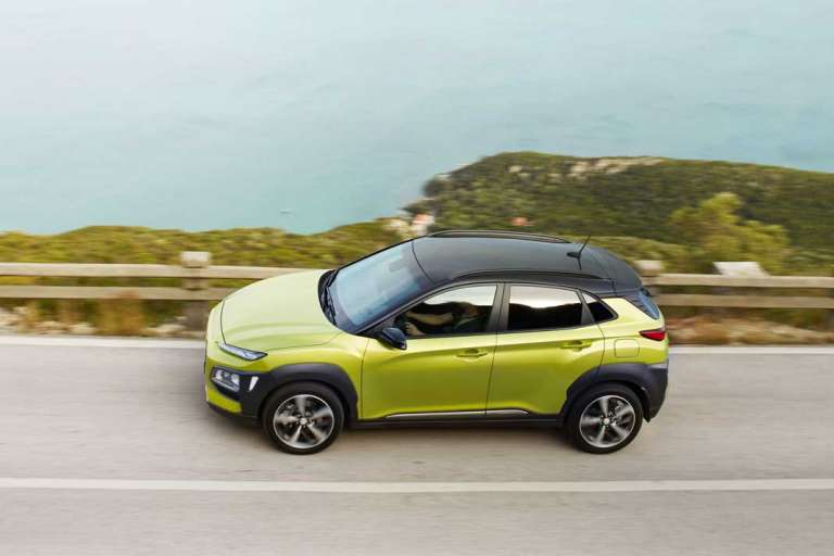 Nuevo Hyundai KONA. Tú lo inspiras. Tú lo conduces