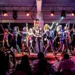 Impresionante puesta en escena en el último espectáculo del local, que ha superado con éxito su séptima temporada. fotos.Lío Ibiza