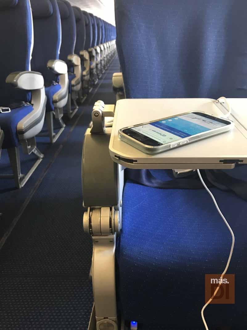 Air Europa instala cargadores USB en su flota Airbus 330