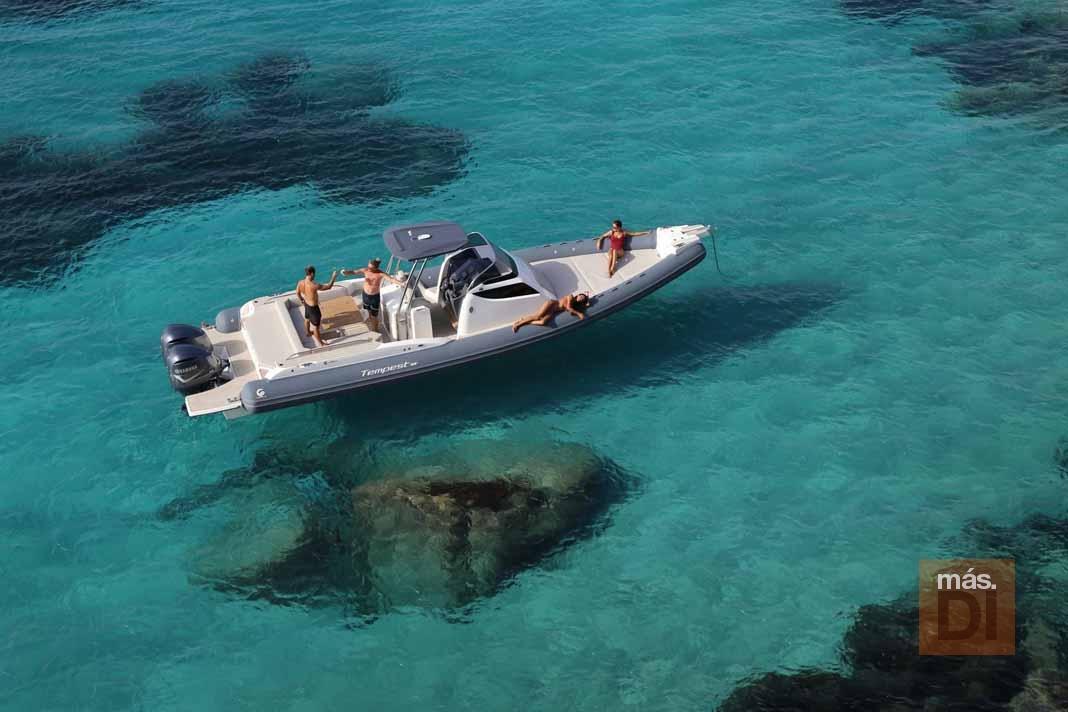 Motonáutica Ibiza. Maniobrabilidad y potencia
