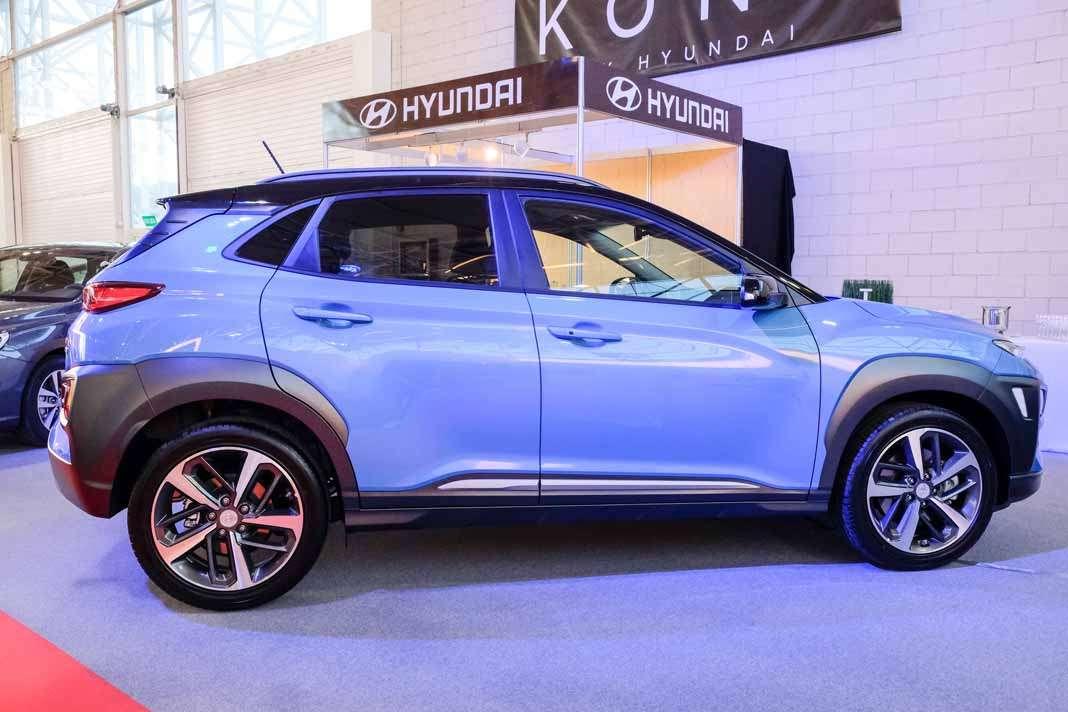 Hyundai nuevo SUV Kona en el recinto ferial de Ibiza.