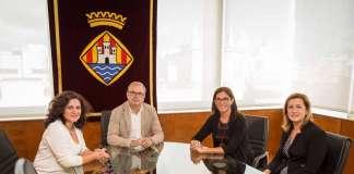 Pepa Marí, Vicent Torres, María Alsina y Belén Villalonga. V.M.