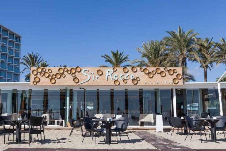Restaurante Sir Rocco Beach Club by Ushuaïa. Excelencia italiana a pie de arena