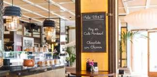 Café Montesol será un excelente lugar donde tomar chocolate con churros el 1 de enero. foto: Café Montesol