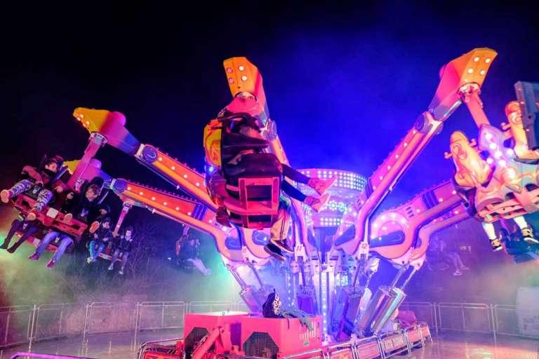 Feria de Atracciones. Adrenalina y diversión en Can Misses