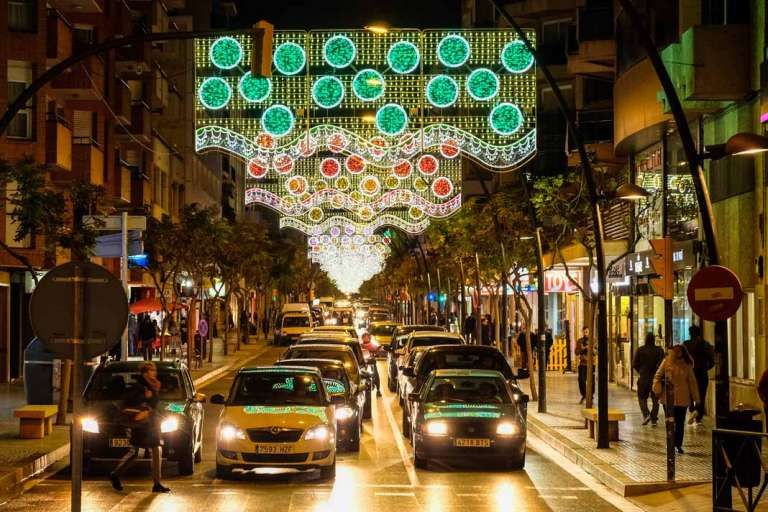Ayuntamiento de Ibiza.  La Navidad brilla en Vila