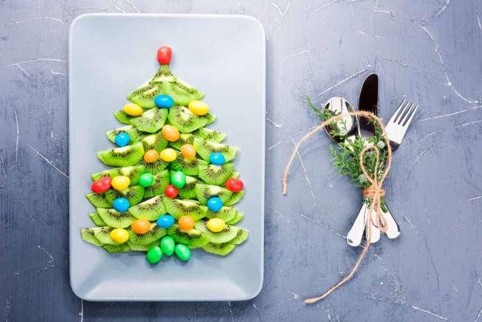 El kiwi puede ser el aliado perfecto para preparar un árbol comestible. fotos: istock
