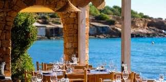 Vistas desde la terraza del Restaurante Cala Bonita.
