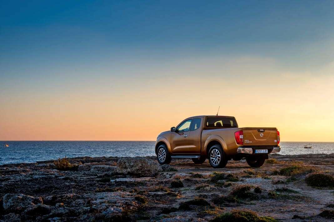 El nuevo Nissan Navara permite llegar a la cima con agarre, potencia y agilidad. fotos: nissan Nissan Navara