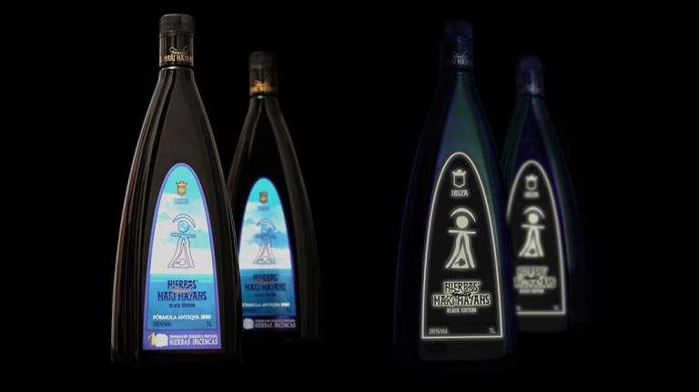 Surfing Black Edition, la nueva botella luminosa de Hierbas Familia Marí Mayans
