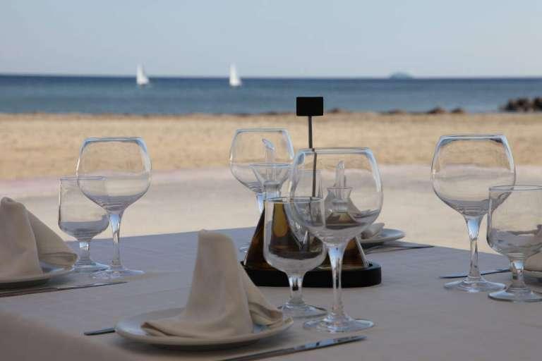 Restaurante Insula. El mar en invierno también apetece