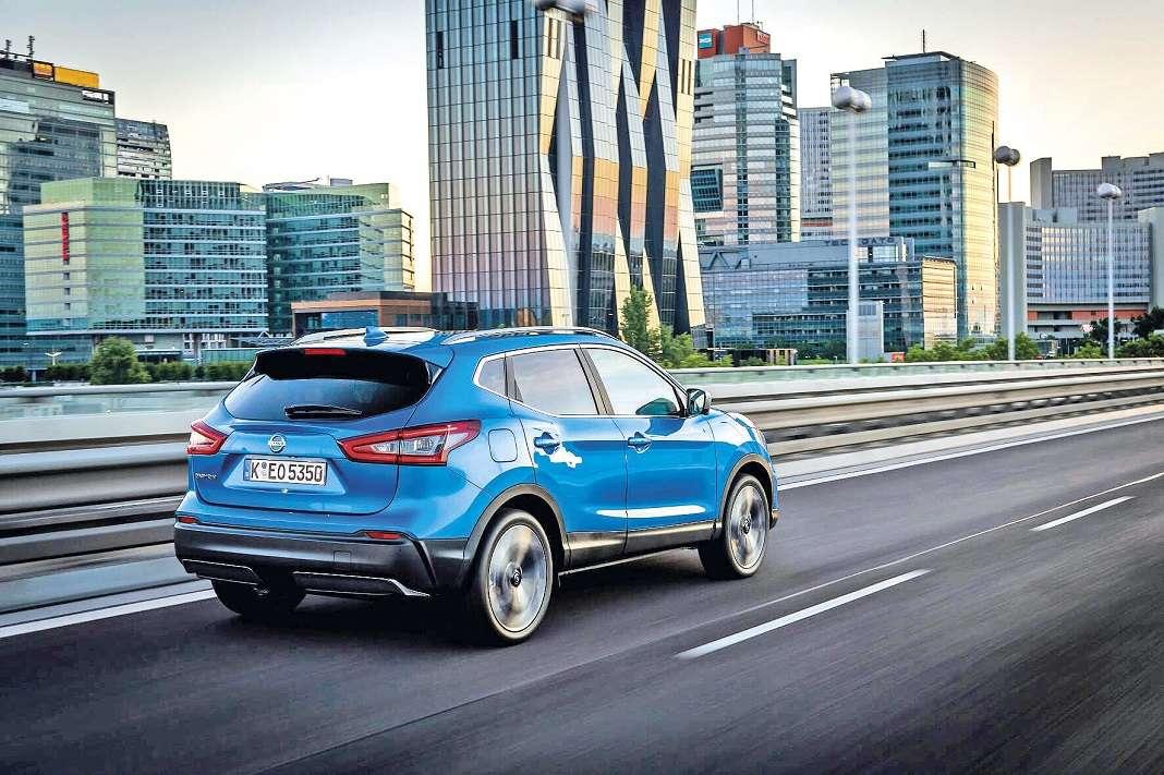 Del Nissan Qashqai se superaron en el año 2017 con un crecimiento del 13,7% respecto al año anterior.