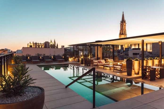 'Rooftop' del Hotel Sant Francesc, Palma. Fotos: CaixaBank Financiación para el sector turístico