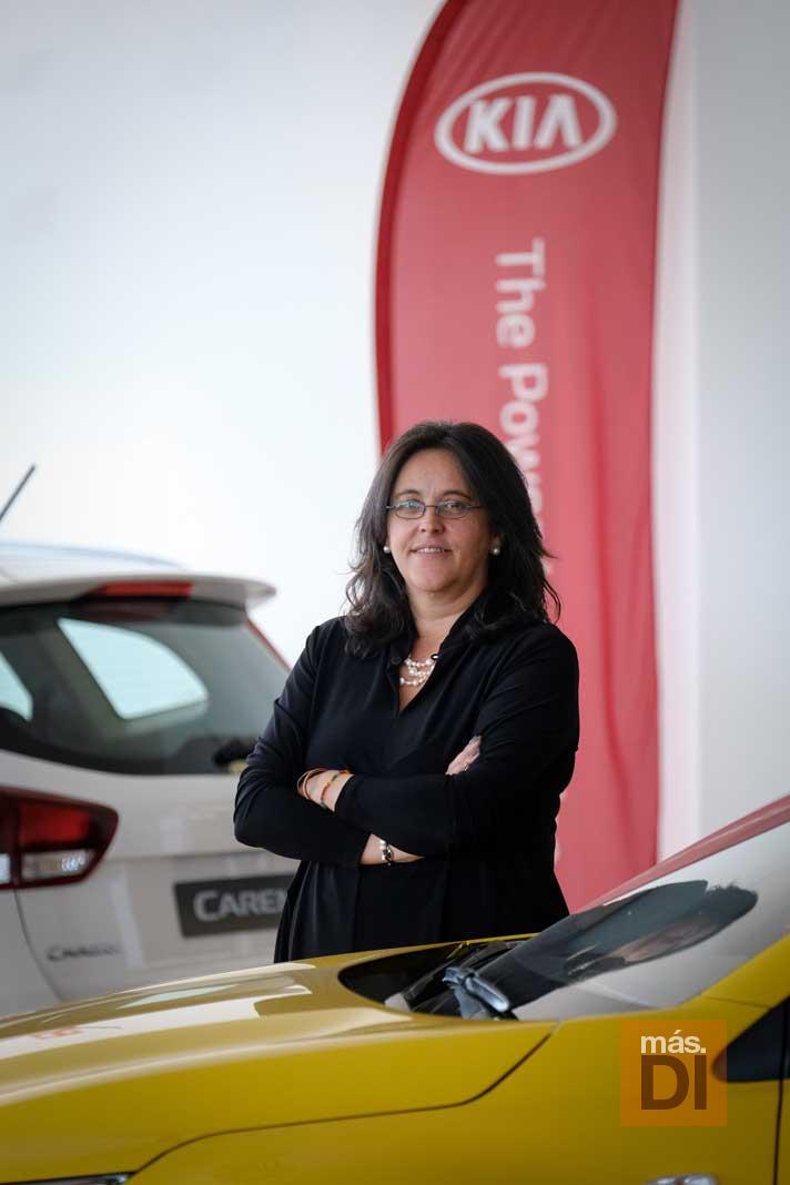 Luisa Gutiérrez: «Kia apuesta por los coches híbridos»
