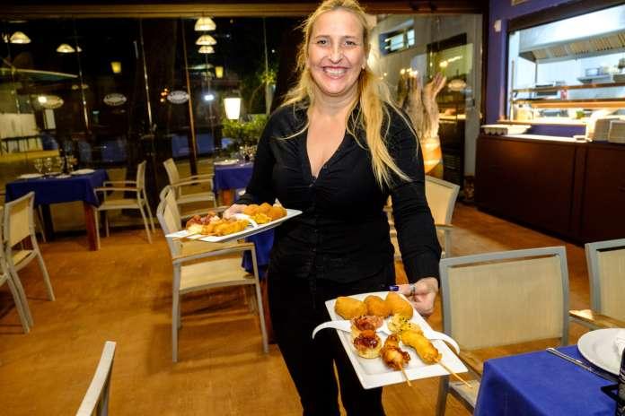 En la inauguración, Sissi's Ibiza invitó a una degustación. Restaurante Sissi's