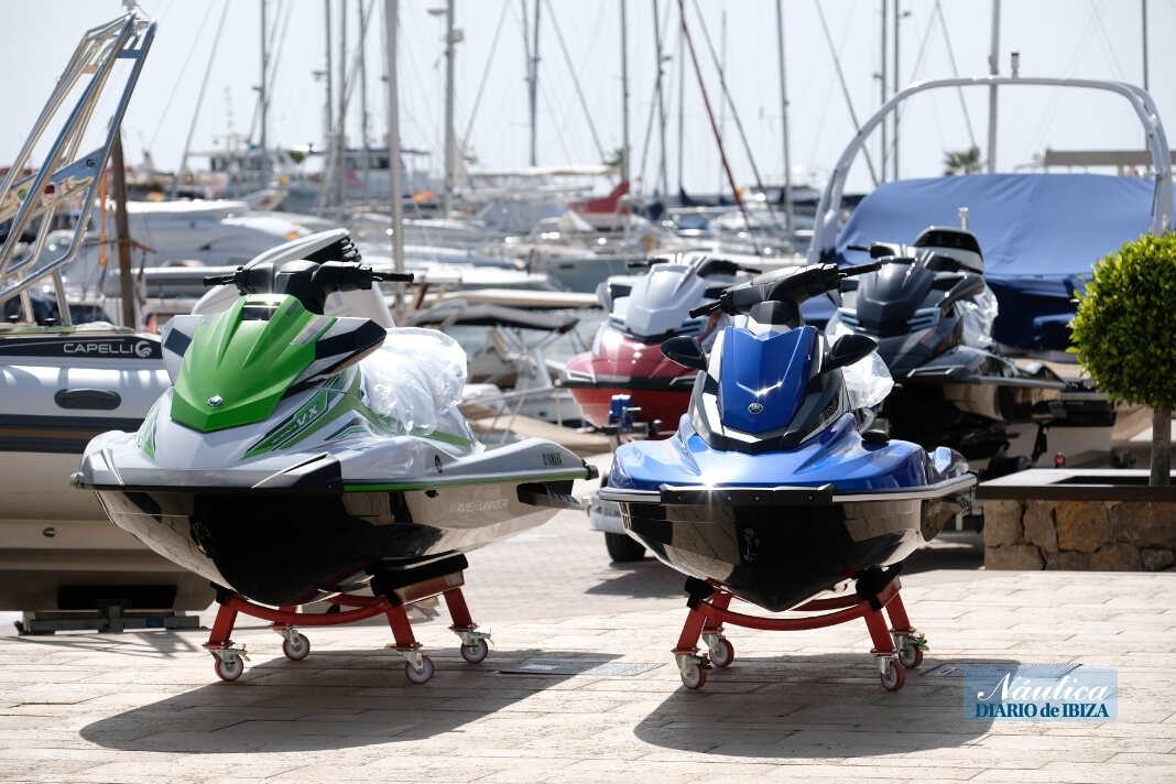Las motos de agua, uno de los atractivos de la cita náutica.