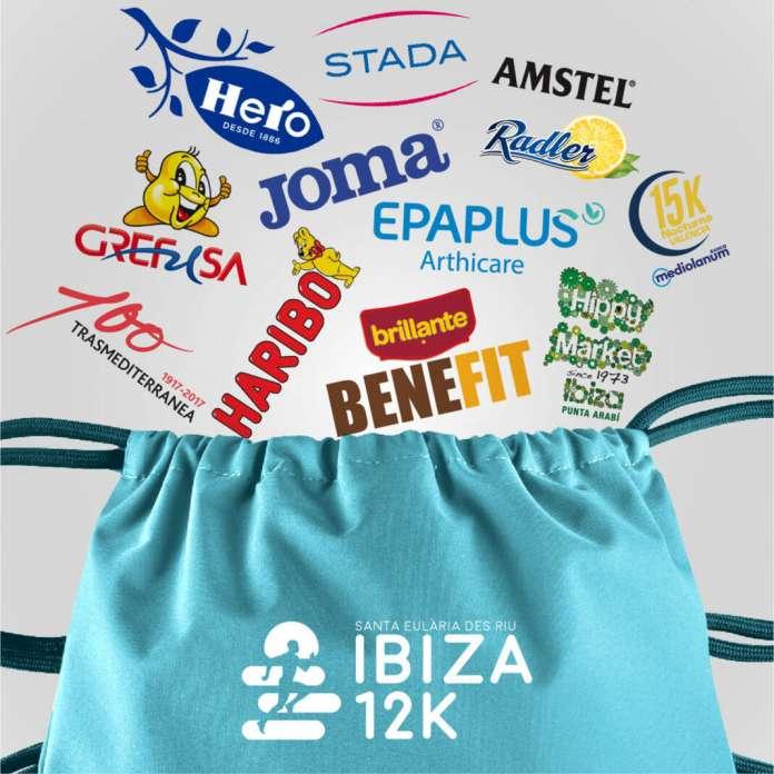Los participantes recibirán la bolsa del corredor. Fotos: Ibiza marathon