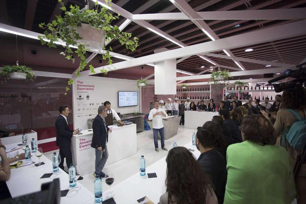 The Alimentaria Experience aportó conocimiento y formación en directo de la mano de los chefs más reconocidos del país. Foto: Alimentaria Barcelona.