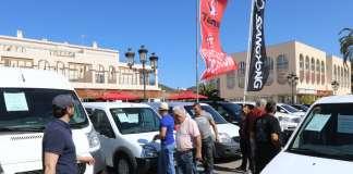 La feria es, sin duda, una gran oportunidad para probar y comprar coches a precios competitivos. Fotos: Vicent Marí Feria de Vehículos de ocasión de Sant Jordi