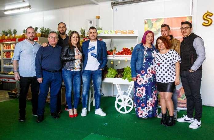 Equipo de profesionales de Frufor en Ibiza. REPORTAJE GRÁFICO: TONI ESCOBAR