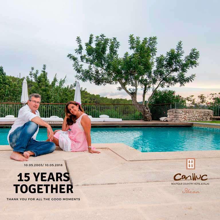 Can LLuc, quince años juntos