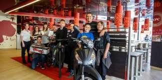 Le entrega de premios tuvo lugar en el KFC / Pizza Hut de Eivissa. fotos: sergio g. cañizares