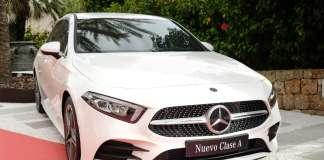 El nuevo Clase A dio la bienvenida a los invitados a la pasarela Mercedes-Benz Fashion Weekend Ibiza. sergio g. cañizares
