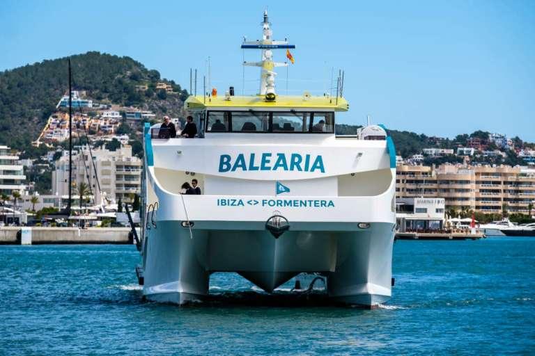 Segundo 'eco fast ferry' en la ruta Ibiza-Formentera