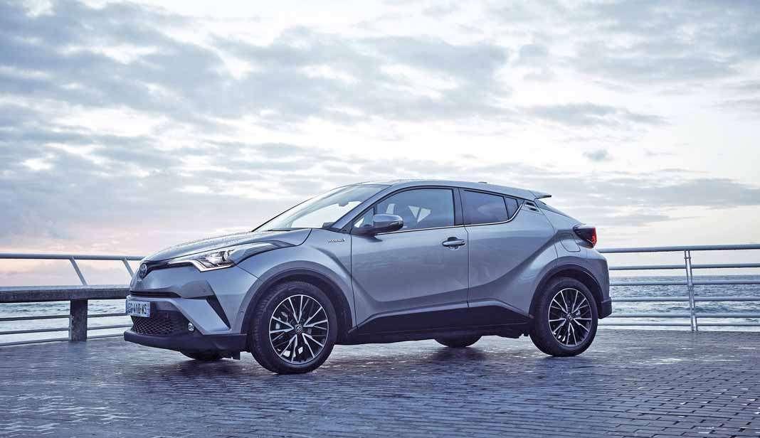 Híbridos eléctricos. El éxito del lanzamiento del Toyota C-HR abrió el camino para el fuerte arranque de 2018.