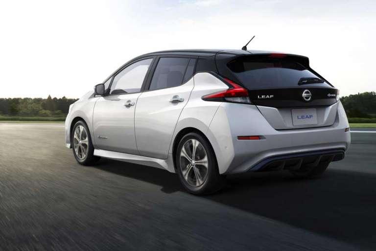 Nissan Leaf. Seguridad y protección