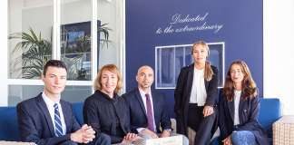 Equipo de Ibiza Sotheby's International Realty. Fotos: IBIZA SOTHEBYS INTERNATIONAL REALTY