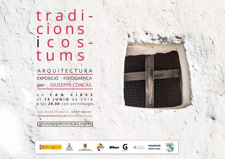 Exposición fotográfica de Giuseppe Concas en Can Cires