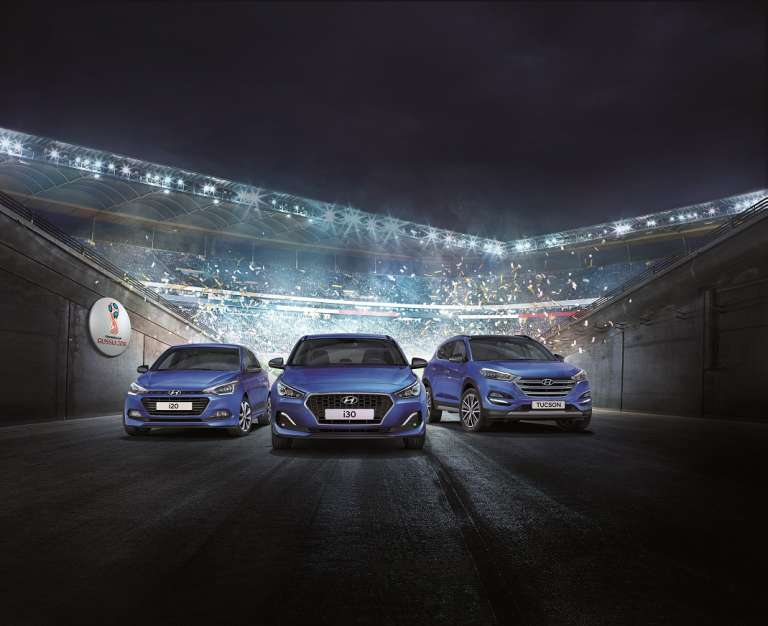 Hyundai Go! Coches de campeonato