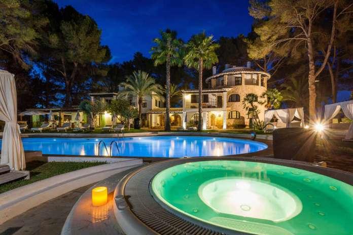 Oasis de tranquilidad y bienestar en un marco natural increíble, en la zona de es Puig.