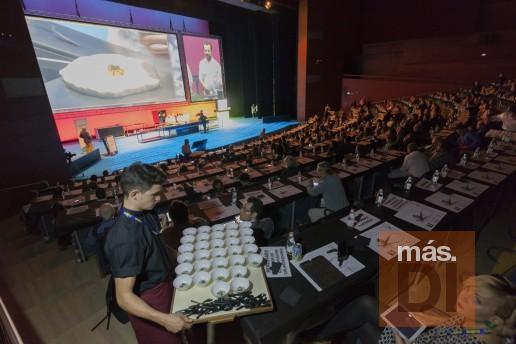 Imágenes de la edición del año pasado de San Sebastián Gastronomika, que el próximo mes de octubre cumple 20 años. fotos: San Sebastián Gastronomika