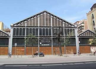 Fachada principal del Mercado de La Concepción que da a la calle Aragón de Barcelona. Juan Suárez