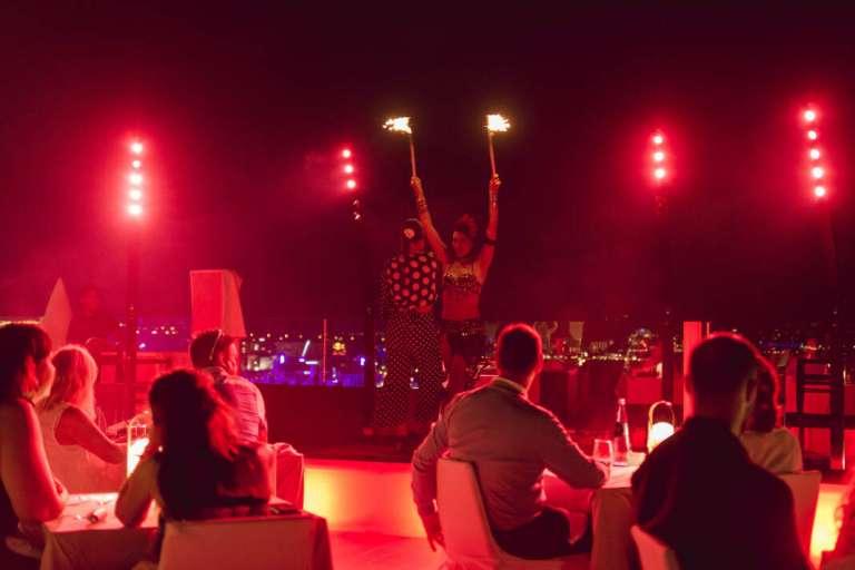 Aire, agua, tierra y fuego en Ibiza