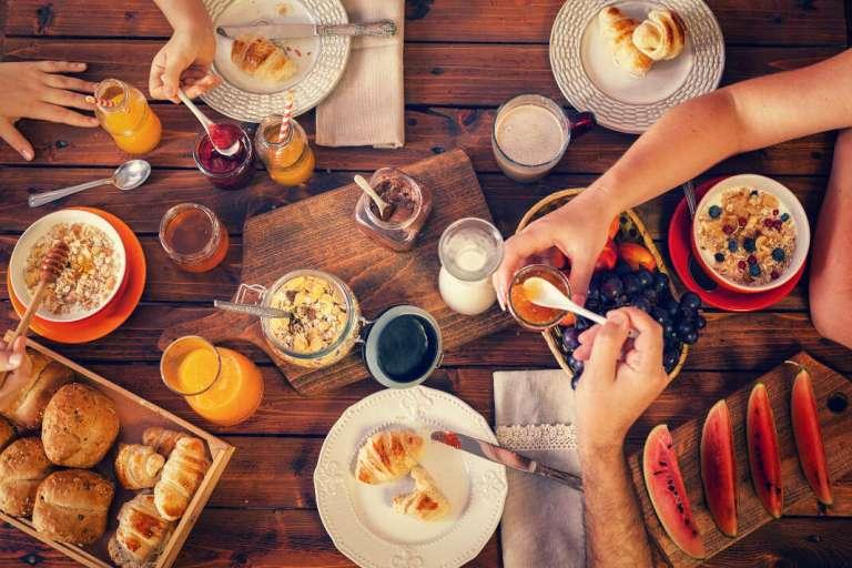 El desayuno ideal para los niños